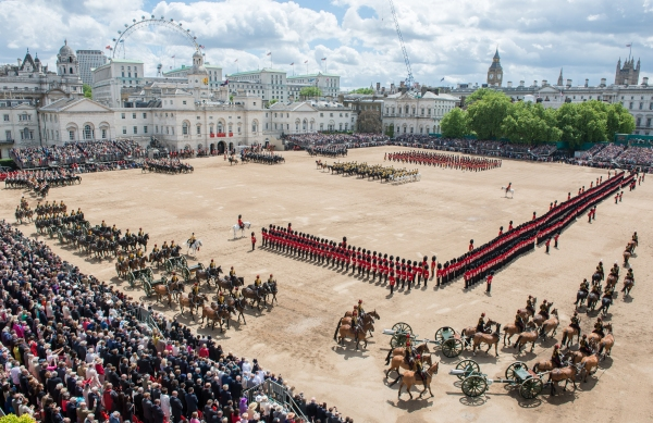 Trooping the Colour on Horse Guards Parade